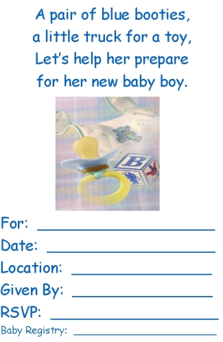 download baby shower invitations