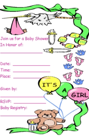 free printable baby shower invitations, Baby shower invitations