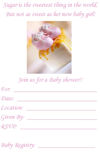 free printable babyshower invitations, Baby shower invitations